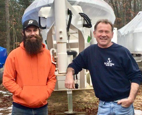 Owner Dan Walsh (right) & Travis Evans